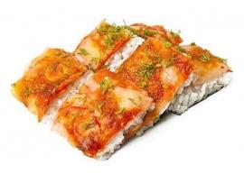 Пицца лосось